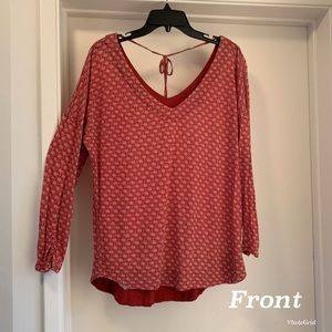 Cute Lucky Brand printed top